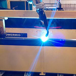 Serviço de Solda Robotizada